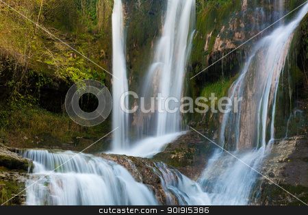 Waterfall of Penaladros, Cozuela, Burgos, Castilla y Leon, Spain stock photo, Waterfall of Penaladros, Cozuela, Burgos, Castilla y Leon, Spain by B.F.