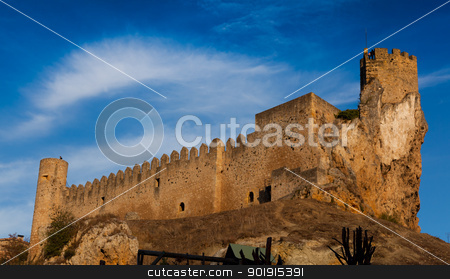 Castle of Frias, Burgos, Castilla y Leon, Spain stock photo, Castle of Frias, Burgos, Castilla y Leon, Spain by B.F.