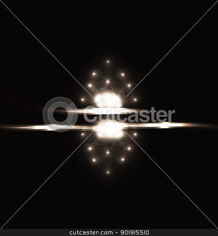 Hi tech background with element s light effects stock vector clipart