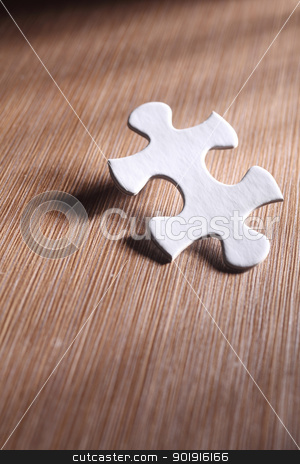 puzzle stock photo, A piece of jigsaw puzzle by eskaylim