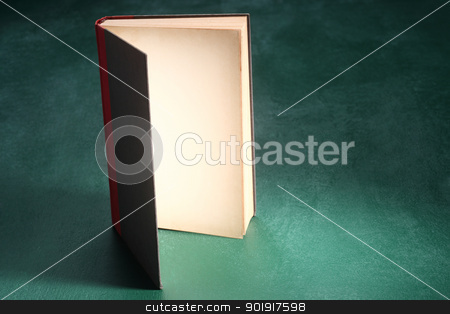 book stock photo, close up of the open page of a book by eskaylim