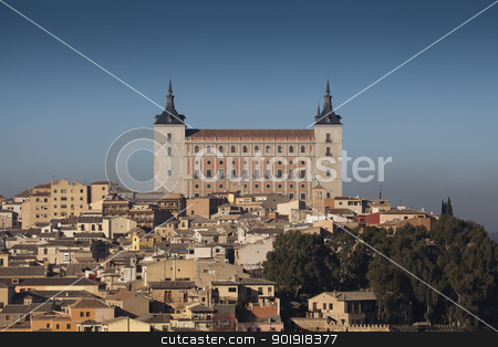 Alcazar of Toledo, Castilla la Mancha, Spain stock photo, Alcazar of Toledo, Castilla la Mancha, Spain by B.F.