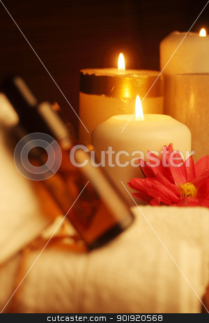 spa concept stock photo, still life of the spa treatment concept by eskaylim