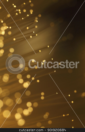 fiber optic stock photo, close up of bundle of fiber optic by eskaylim