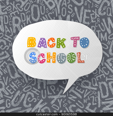 Back to school abstract background. Vector illustration, EPS10 stock vector clipart, Back to school abstract background. Vector illustration, EPS10 by pashabo