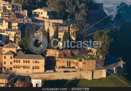 Old town of Toledo, Castilla la Mancha, Spain stock photo, Old town of Toledo, Castilla la Mancha, Spain by B.F.