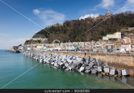 View of San Sebastian, Gipuzkoa, Spain stock photo, View of San Sebastian, Gipuzkoa, Spain by B.F.