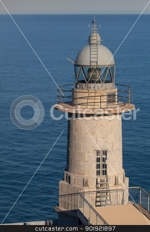 Lighthouse of Santa Catalina, Lekeitio, Bizkaia, Spain stock photo, Lighthouse of Santa Catalina, Lekeitio, Bizkaia, Spain by B.F.