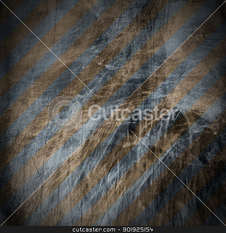 Blue and Brown Grunge Background stock photo, Blue and brown grunge wall texture with space for text or image   by catalby