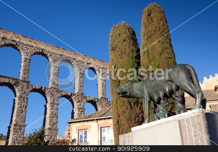 Segovia, Castilla y Leon, Spain stock photo, Segovia, Castilla y Leon, Spain by B.F.
