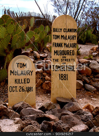 Tombstone Boothill stock photo,                                 by Liane Harrold