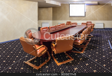 conference room stock photo, conference room by fogen