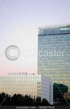 modern architecture stock photo, modern architecture by Sarka