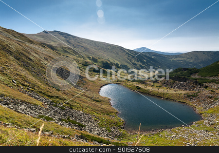 Chornohora ridge stock photo, Chornohora ridge in the Ukrainian Carpathians by vtorous