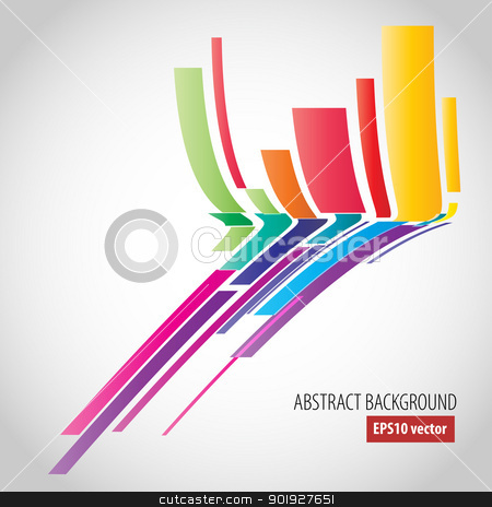 Abstract background stock vector clipart, Abstract vector background by vtorous