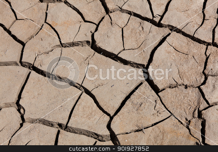 Desertification, Reservoir of Yesa, Zaragoza, Spain stock photo, Desertification, Reservoir of Yesa, Zaragoza, Spain by B.F.