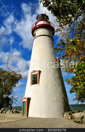 Marblehead Lighthouse - Ohio stock photo, Marblehead Lighthouse - Ohio by Liane Harrold