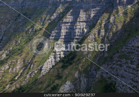 Cliffs in the Salto del Nervion, Alava, Spain stock photo, Cliffs in the Salto del Nervion, Alava, Spain by B.F.