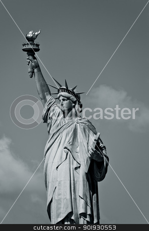 Statue of Liberty, New York, USA stock photo, Statue of Liberty, New York, USA by B.F.