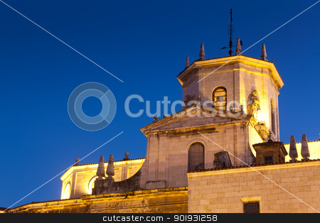 Cathedral of nuestra señora de la asuncion, Santander, Cantabri stock photo, Cathedral of nuestra señora de la asuncion, Santander, Cantabria, Spain by B.F.