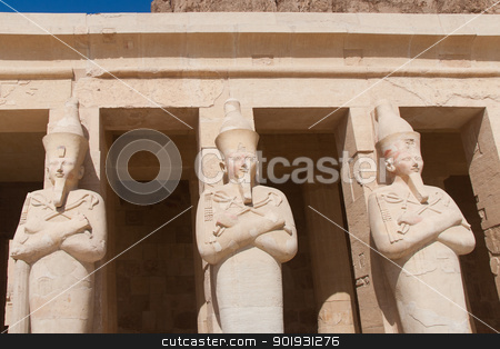 Hatshepsut temple, Egypt stock photo, Hatshepsut temple, Egypt by B.F.