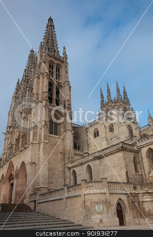 Cathedral of Burgos, Castilla y Leon, Spain stock photo, Cathedral of Burgos, Castilla y Leon, Spain by B.F.
