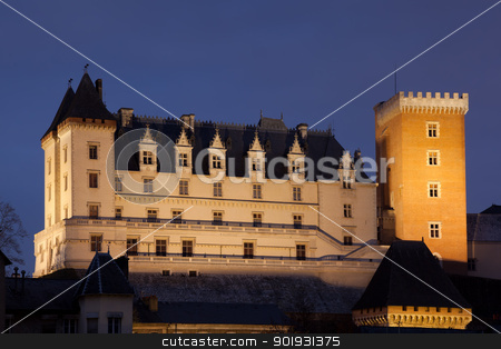 Pau castle, Pyrenees Atlantiques, Aquitaine, France stock photo, Pau castle, Pyrenees Atlantiques, Aquitaine, France by B.F.