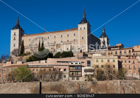 View of Toledo, Castilla la Mancha, Spain stock photo, View of Toledo, Castilla la Mancha, Spain by B.F.