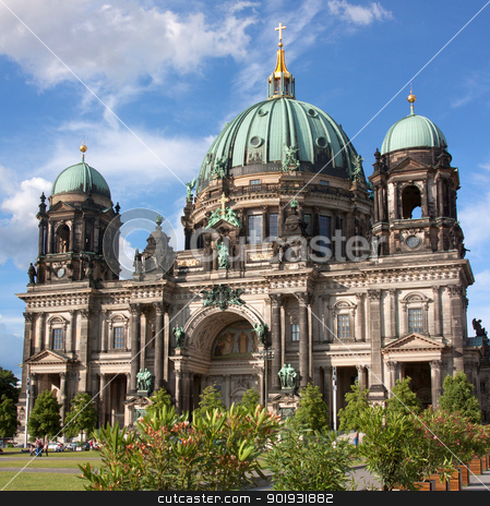 Dome of the Berlin Cathedral stock photo, Dome of the Berlin Cathedral, Berlin, Capital, Germany fotografiert im Juni 2012 by Manuela Schueler