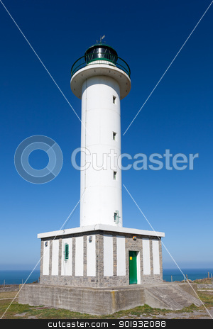 Lighthouse of Llastres, Asturias, Spain stock photo, Lighthouse of Llastres, Asturias, Spain by B.F.