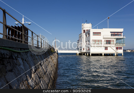 Real club maritimo, Santander, Cantabria, Spain stock photo, Real club maritimo, Santander, Cantabria, Spain by B.F.