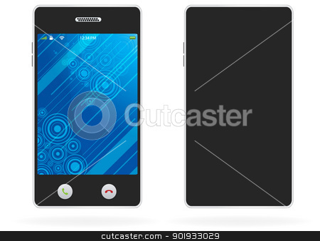 Mobile Phone stock vector clipart, Mobile Phone by Erdem