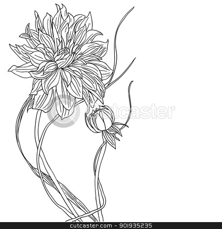 tattoo flower stock photo, tattoo flower by aarrows
