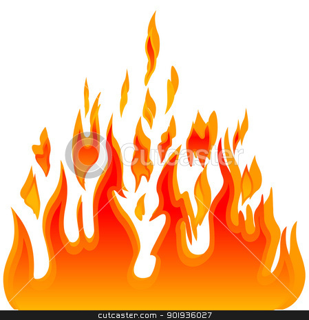 Burn flame fire  background stock photo, Burn flame fire  background by aarrows
