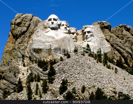 Mount Rushmore South Dakota stock photo,                                 by Liane Harrold