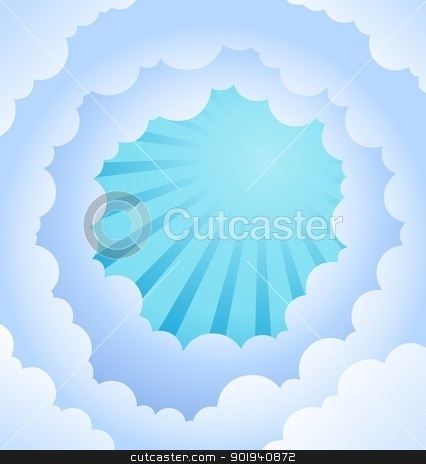 Ray theme abstract background 2 stock vector clipart, Ray theme abstract background 2 - vector illustration. by Klara Viskova