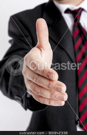 business handshake stock photo, An image of a nice business handshake by Markus Gann