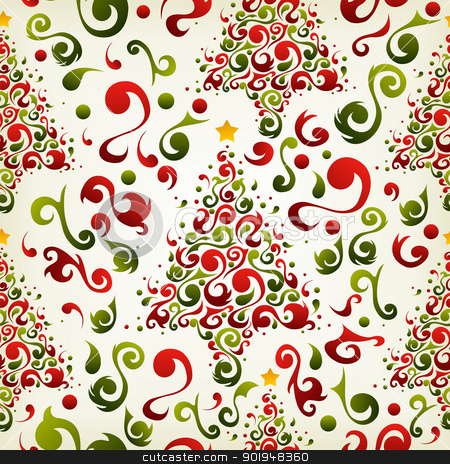 450 x 464 jpeg 203kB, ... Christmas tree pattern stock vector clipart ...
