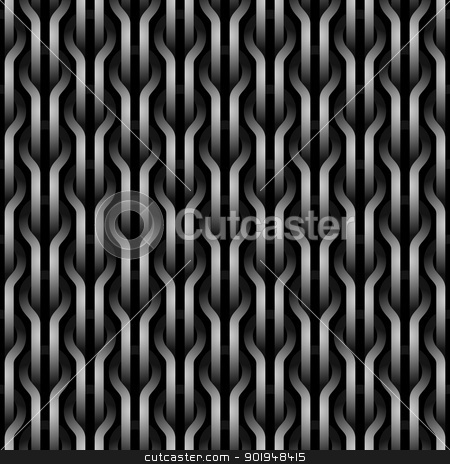 Seamless wickerwork pattern. stock photo, Seamless wickerwork pattern. by Oleksiy Fedorov