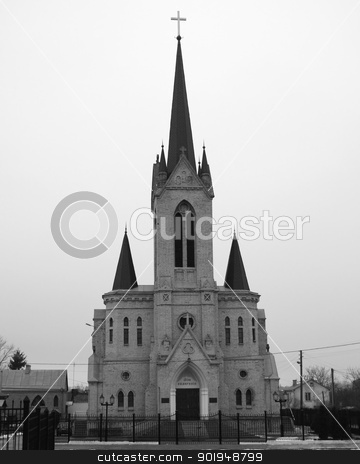 l baptist church  stock photo, The Central baptist church in city Luck. The Ukraine. by Oleksandr Pakhay