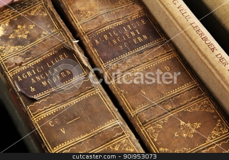 Vintage books.  stock photo, Vintage books.  by olley997