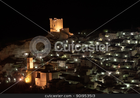 Alcala del Jucar stock photo, A view of Alcala del Jucar, in Albacete (Spain) by Camilo