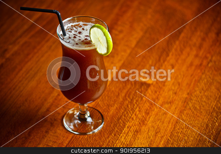Alcohol cocktail  stock photo, Cold alcohol cocktail with coffee liquor by Grafvision