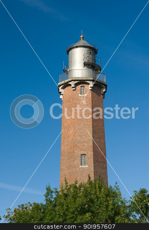 Lighthouse stock photo, Lighthouse Neuland. Schleswig Holstein,germany by Picturehunter