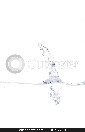 Water stock photo, Some water is splashing. use it for concepts. by Picturehunter