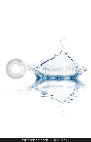 The rain stock photo, Some water is splashing. use it for concepts. by Picturehunter