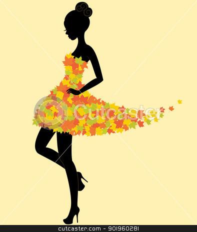 Fashion model silhouette clip art vector clipart silhouette