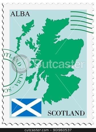 Scotland Postage Stamp – Stock Editorial Photo © alidphotos #2752520