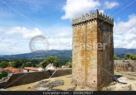 Castle of Melgaco  in the north of Portugal.  stock photo, Castle of Melgaco  in the north of Portugal.  by Inacio Pires