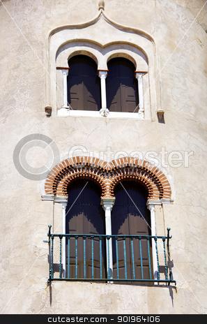 windows of Alvito castle, Portugal stock photo,  windows of Alvito castle, Portugal by Inacio Pires